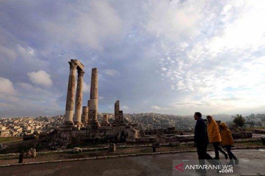 Situs arkeologi Citadel di Kota Amman