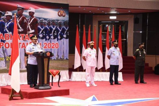 Panglima TNI wisuda 923 prajurit dan bhayangkara taruna
