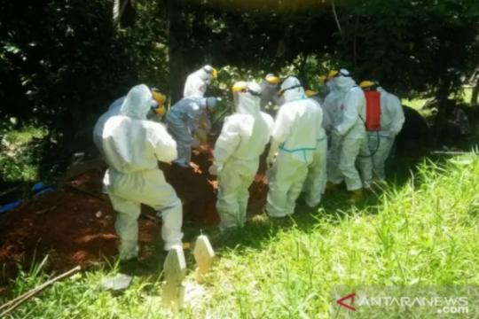 Pasien COVID-19 meninggal di Sultra bertambah lima jadi 102 orang