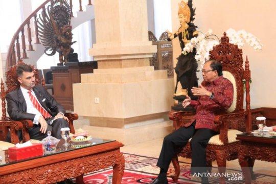 Gubernur Bali berbagi penanganan COVID-19 dengan Dubes Austria