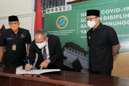 Gubernur deklarasikan Pilkada Serentak 2020 Jabar aman dari COVID-19