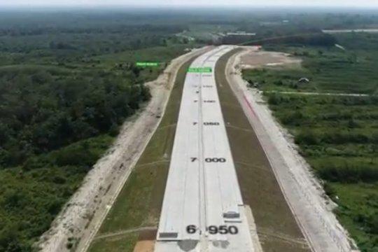 Pembangunan tol Pekanbaru-Bangkinang gunakan produk Semen Padang