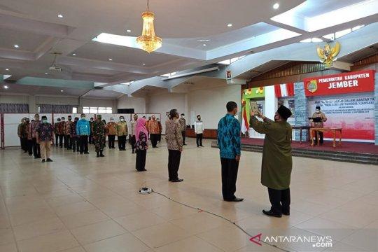 Plt Bupati Jember lanjutkan proses pengembalian jabatan