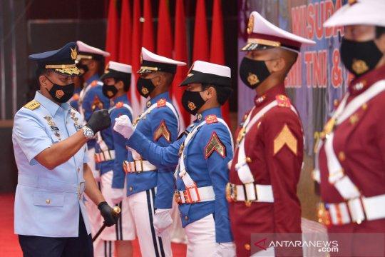 Wisuda Prajurit dan Bhayangkara Taruna Akademi TNI dan Akpol 2020