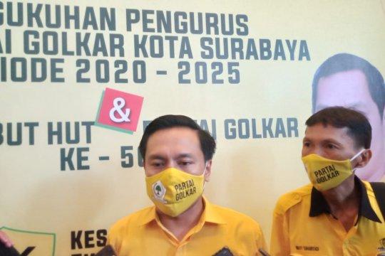 Golkar nilai video viral sudutkan Risma ekspresi kecewa warga Surabaya