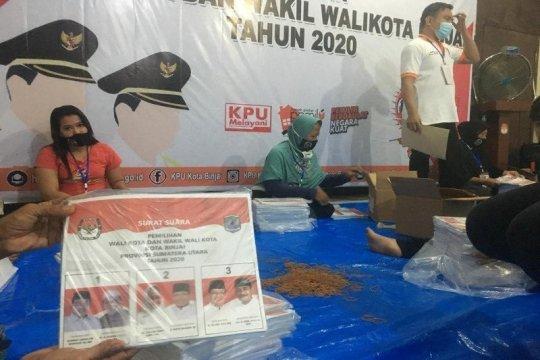 KPU Lakukan pelipatan surat suara dengan penerapan protokol kesehatan