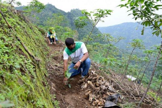 Petani di Kudus dilibatkan dalam penanaman 67.000 bibit pohon