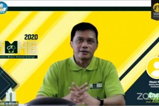 UI tuan rumah kontes mobil hemat energi 2020