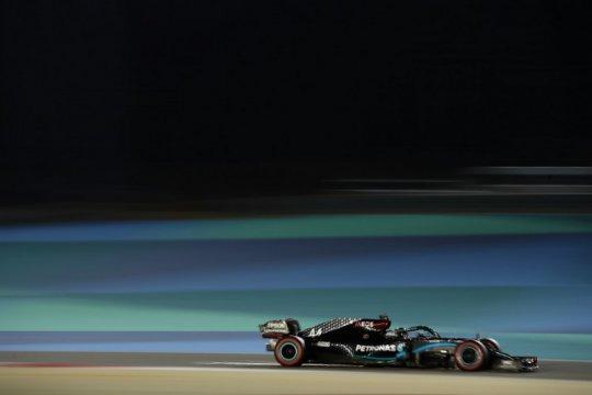 Hamilton dominasi hari pertama sesi latihan bebas Grand Prix Bahrain
