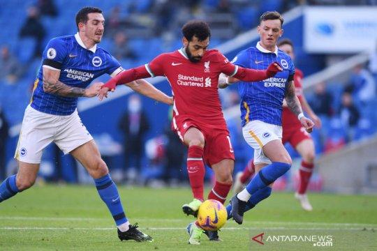 Liga Inggris : Liverpool pimpin 1-0 lewat gol Jota