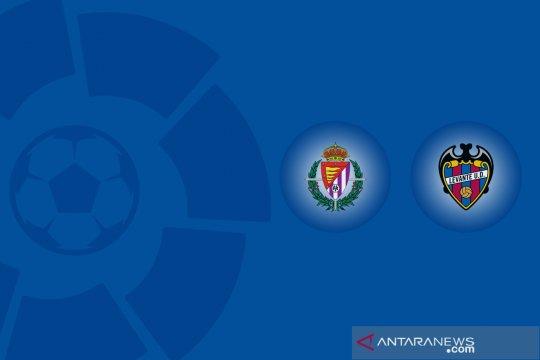 Penalti larut Levante hentikan momentum kemenangan beruntun Valladolid