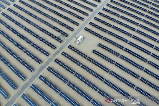 Melihat pembangkit listrik energi terbarukan di Qinghai China