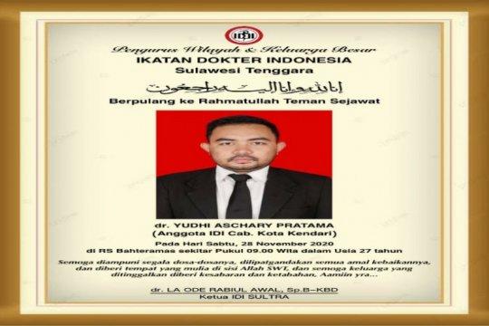 Seorang dokter usia 27 tahun meninggal akibat COVID-19 di Sultra