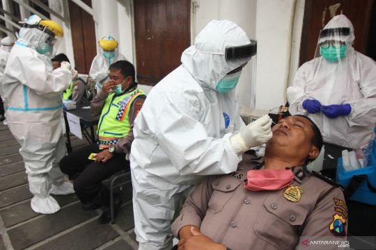 Tes usap personel Pikada Surabaya