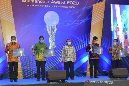 Kementerian ESDM raih emas dan geoportal terbaik Bhumandala Award