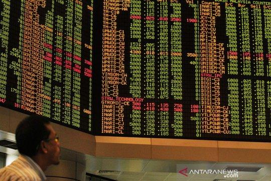 Pasar saham Malaysia ditutup melemah, indeks KLCI turun 0,34 persen