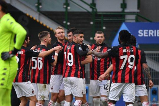 Taklukkan Fiorentina, Milan kini unggul lima poin di pucuk klasemen