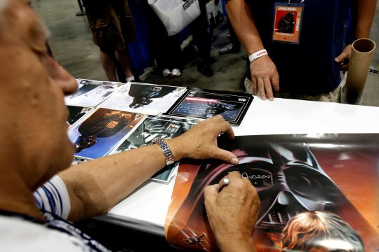 Aktor pemeran Darth Vader, David Prowse meninggal dunia