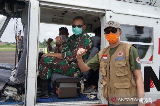 Pantau karhutla-banjir, Danrem dan Plt Gubernur Jambi patroli udara
