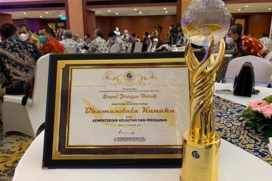 KKP raih dua penghargaan bidang layanan informasi berskala nasional