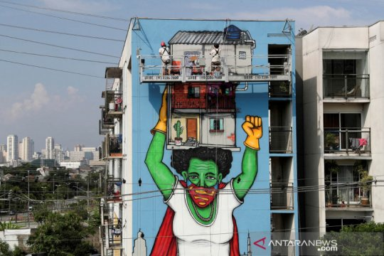 Brazil prioritaskan vaksinasi manula, warga suku, petugas kesehatan