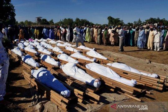 Nigeria berkabung, selidiki pembantaian akhir pekan di dua desa