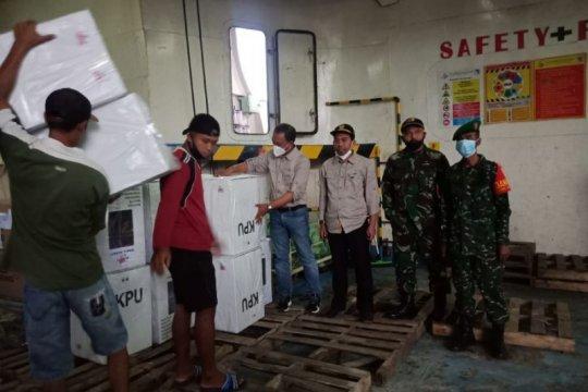 Logistik TPS Pulau Masalembu mulai dikirim menggunakan kapal