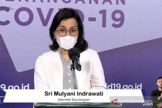 Sri Mulyani sebut anggaran PEN terealisasi Rp431,54 triliun
