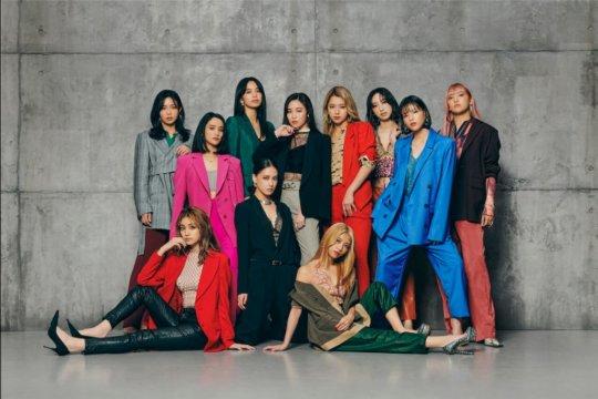 Grup J-pop E-Girls akan resmi bubar pada Desember 2020