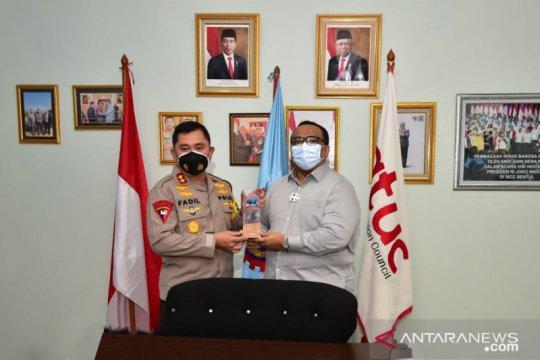 Kapolda Metro Jaya gelar safari ke kantor DPP KSPSI