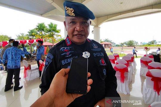 Brimob pengamanan Pilkada Papua Barat mulai digeser ke daerah
