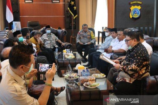 Kepala Polda Sulteng terima tokoh lintas agama terkait kekerasan Sigi