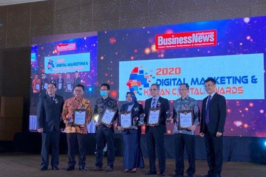 Pos Indonesia ukir prestasi dengan meraih dua penghargaan