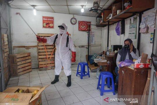 Sebelas pedagang positif COVID-19, Pasar Gede Solo ditutup sementara