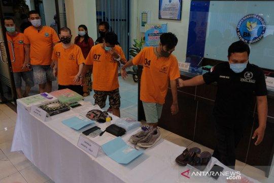 Pengungkapan jaringan pengedar narkotika di Bali