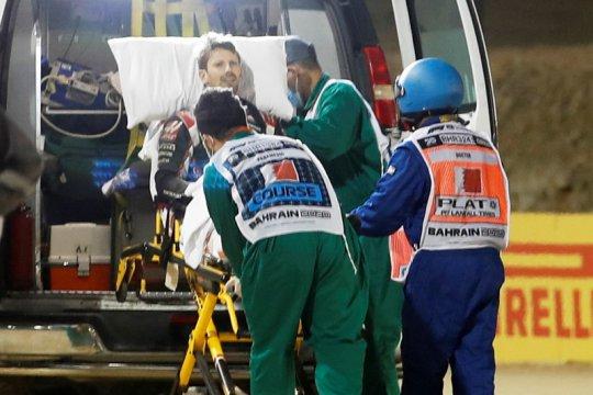 Grosjean ungkap halo menyelamatkannya dari kecelakaan maut di Bahrain