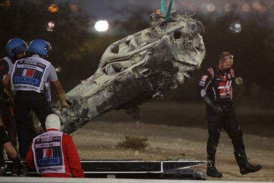 Brawn sebut halo selamatkan Grosjean dari kecelakaan di Bahrain