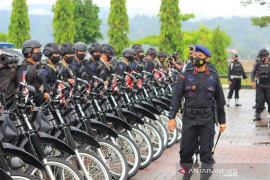 Brimob Polda Maluku gelar apel kesiapsiagaan pengamanan Pilkada