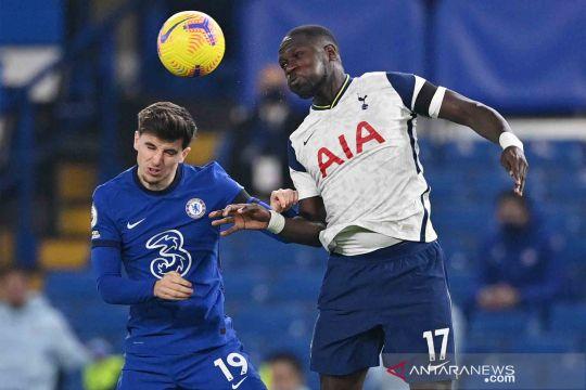 Skor kacamata laga Chelsea melawan Tottenham Hotspur