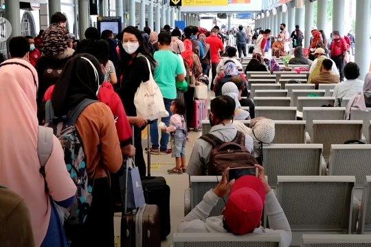 14 ribu penumpang KAI diperkirakan tiba di Jakarta hari ini