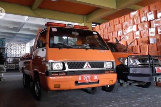 BPBD Jateng distribusikan logistik untuk pengungsi Merapi