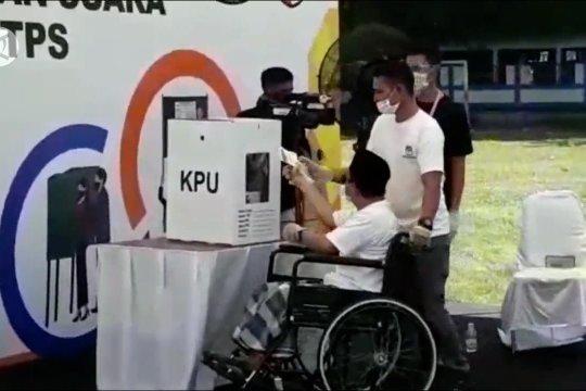 Cegah kerumunan, KPU Sultra jadwalkankedatangan pemilihdi TPS