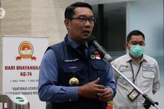 Ini pernyataan Ridwan Kamil terkait acara Rizieq Shihab di Megamendung
