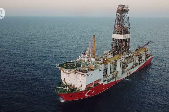 Kapal pengebor Turki mulai jalani misi baru di Laut Hitam