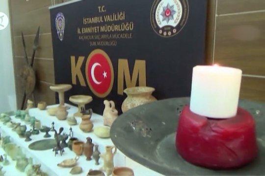 Kepolisian Turki sita 658 artefak bersejarah di Istanbul