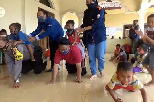 Pemulihan trauma bagi anak-anak pengungsi Merapi