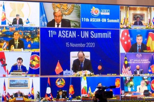 Presiden Jokowi hadiri KTT ke-11 ASEAN-PBB dan KTTke-4 RCEP