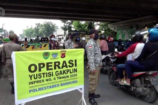 Bandung kembali zona merah, razia prokes diperketat