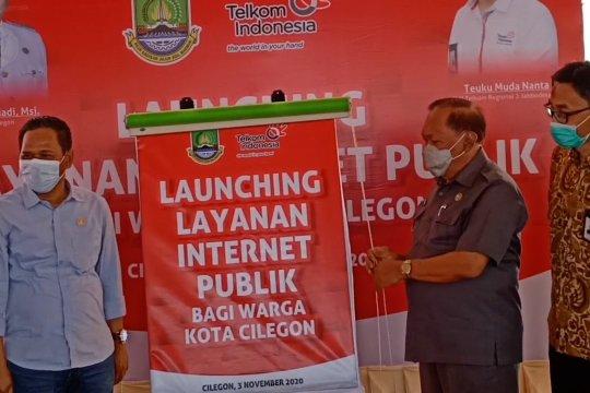 Cilegon luncurkan layanan internet publik di perkampungan