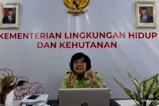 Menteri LHK: UU Ciptaker tak akan timbulkan eksplorasi berlebihan